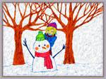 Snowman by fmr0