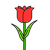 Icon - Red Tulip by fmr0