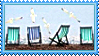 Stamp -  A Day at the Beach by fmr0