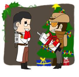 Holiday trade: kiyokushitaka by organizationofsouls