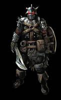 Dark Soldier by Beaver-Skin
