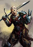 Mercenary by Beaver-Skin