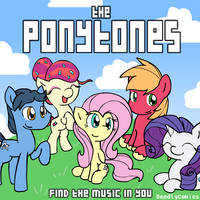 Ponytones Cover Art by DeadlyComics