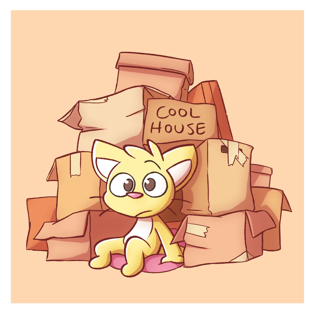 Cat House by DeadlyComics