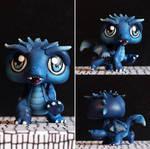 LPS custom: Azure Dragon (HoMM3) by pia-chu