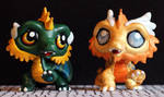 LPS customs: Rampart Dragons (HoMM3) by pia-chu