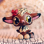 Molly the Meowl (OC) LPS custom by pia-chu