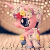 Commission: Unicorn Princess LPS custom by pia-chu