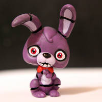 Bonnie from FNAF LPS custom by pia-chu
