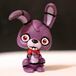 Bonnie from FNAF LPS custom by pia-chu