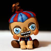 Balloon Boy (BB) from FNAF2 inspired LPS custom by pia-chu