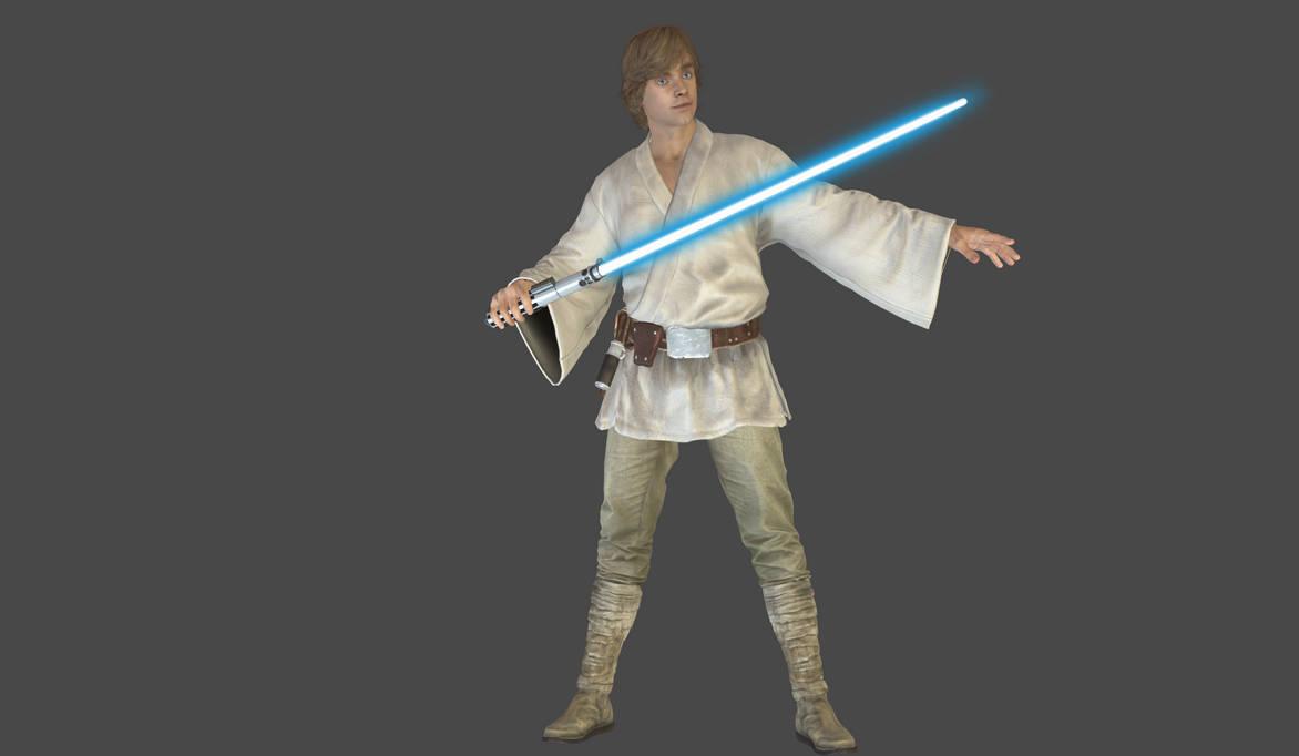 Luke Skywalker Tatooine mesh mod by Lopieloo