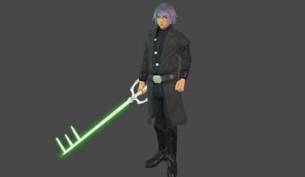 Riku Jedi mesh mod by Lopieloo