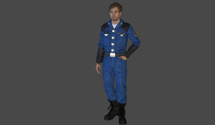 Colonel Christopher Blair mesh mod by Lopieloo