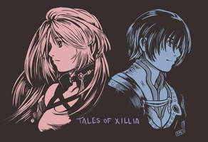 Tales of Xillia - Shadows Neon by Dice9633
