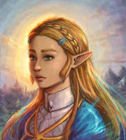 Zelda of the Wild by Dice9633