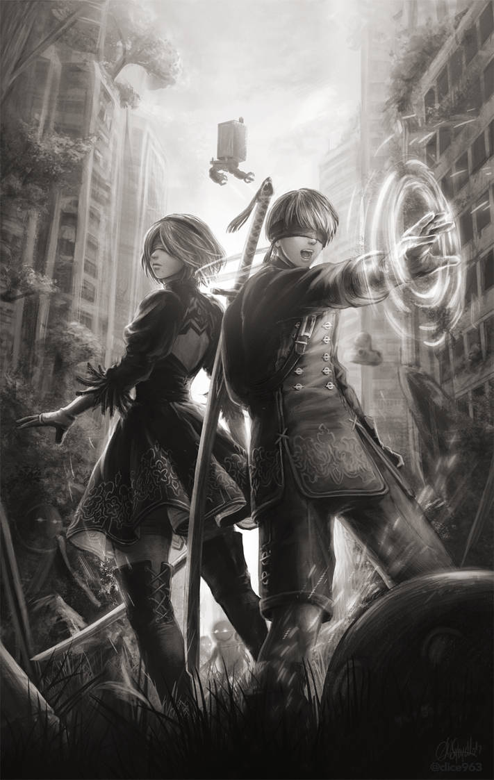 NieR:Automata by Dice9633
