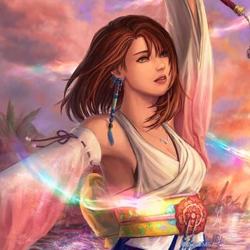 FF10 - Yuna by Dice9633