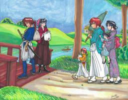 Family Picnic by equigoyle