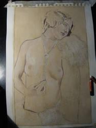 W.I.P. Lady Nude by PennyLame