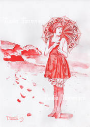 A Sketch in Red by PennyLame