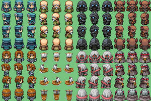 RPG Maker VX sprite dump 1 by Palinor