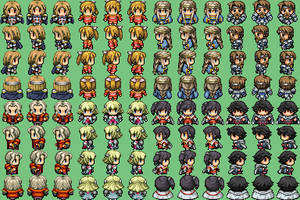 RPG Maker VX sprite dump 2 by Palinor