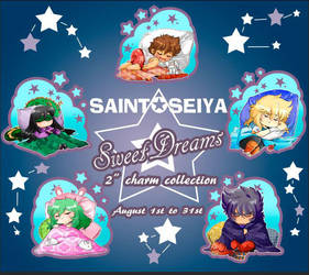 Saint seiya charms PREORDER by kamapon