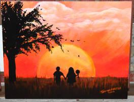 H Sunset by ArT-Walker