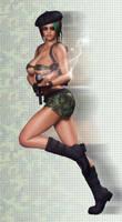 Smokin Soldier by shotgung0d