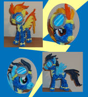 Spitfire and Soarin by PonyCrafter