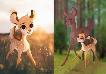 Bambi by Sarka-Rozka