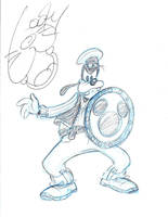 Disneyland - Goofy 2 by kolidescope