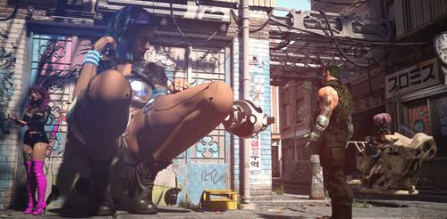 Cyberpunk GTS by relisys66