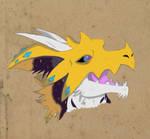 Painting: Illusion Headshot by TheHemikoWay