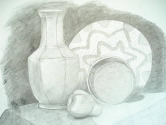 Still life-2 by Qaiqab