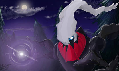 Darkrai - Shadow ball by windrenz