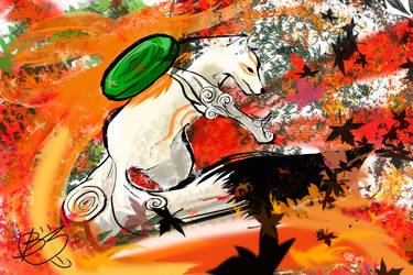 Amaterasu - Okami by windrenz