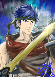 Ike, The Radiant Hero by windrenz