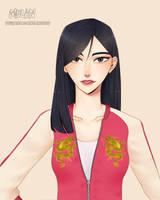 Mulan (Wreck It Ralph 2) by remiNISE123