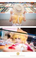 Shinobu Oshino - Donuts! by xmiriee