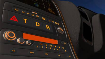 WIP - FlyingCar - Interia - Dash Console - Closeup by BenSkylinegodzilla