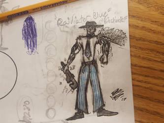 Blue Bioshock by CensingAuto
