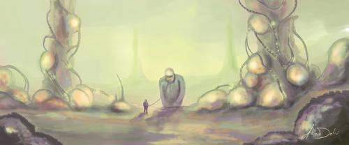 Taking a walk by al-din
