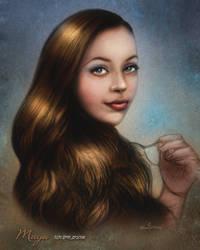 Maya is 20  by NickMoscovitz