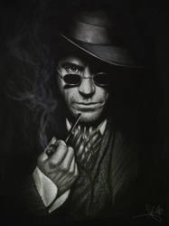 Sherlock Holmes by lorenzothekiller