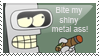 Bender-Bite my shiny metal ass by SekerAsar
