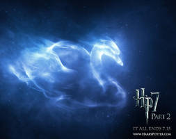 Harry Potter Patronus by SirenD