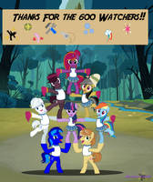 Thanks for the 600 Watchers!!! by Diamond-ChiVA