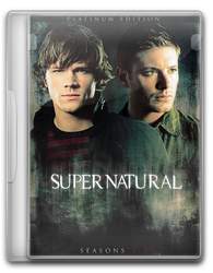 Supernatural DVD Cover by dusted92